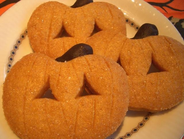 10月限定ハロウィーンかぼちゃのサブレ