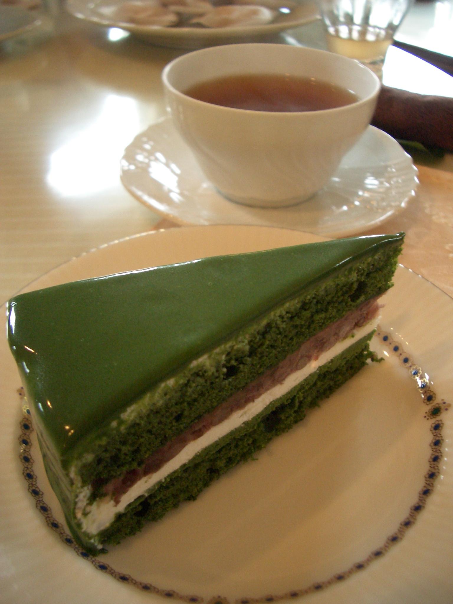 2010年4月19日(月)抹茶小倉あん生ケーキ『お菓子教室』