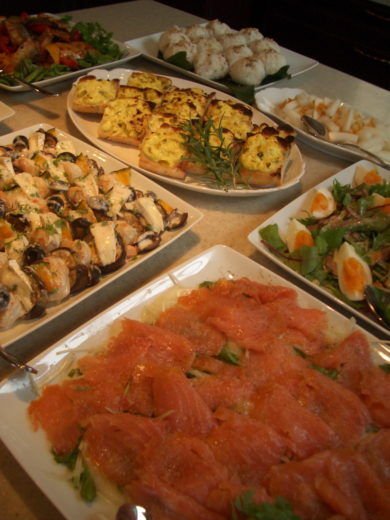 2010年10月4日(月)ランチコンサート のお料理