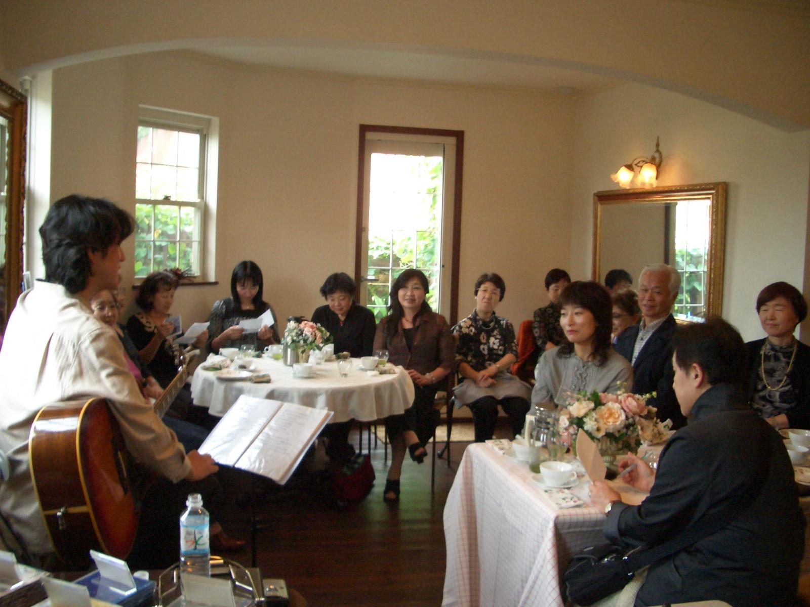 2007年10月29日(月)てつろうさんランチサロンコンサート