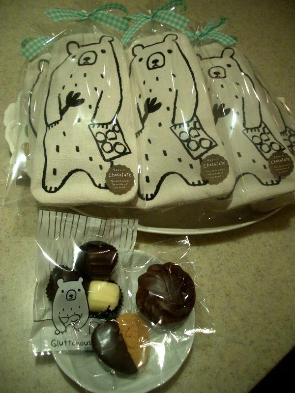 クマさんポーチお菓子詰め合わせ