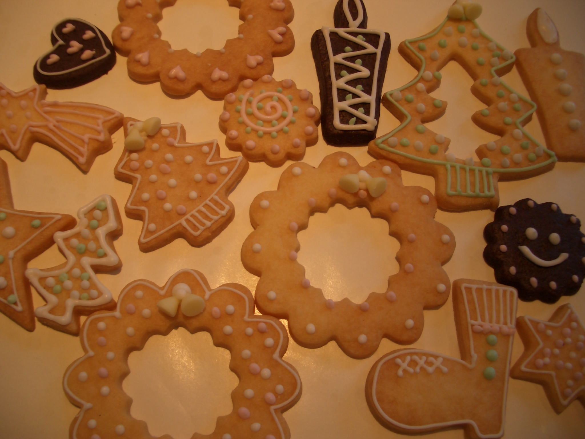 クッキーで作るクリスマスオーナメント『お菓子教室』