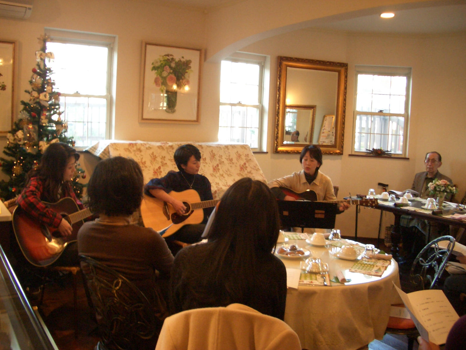 2008年11月23日(日)ギター教室発表会
