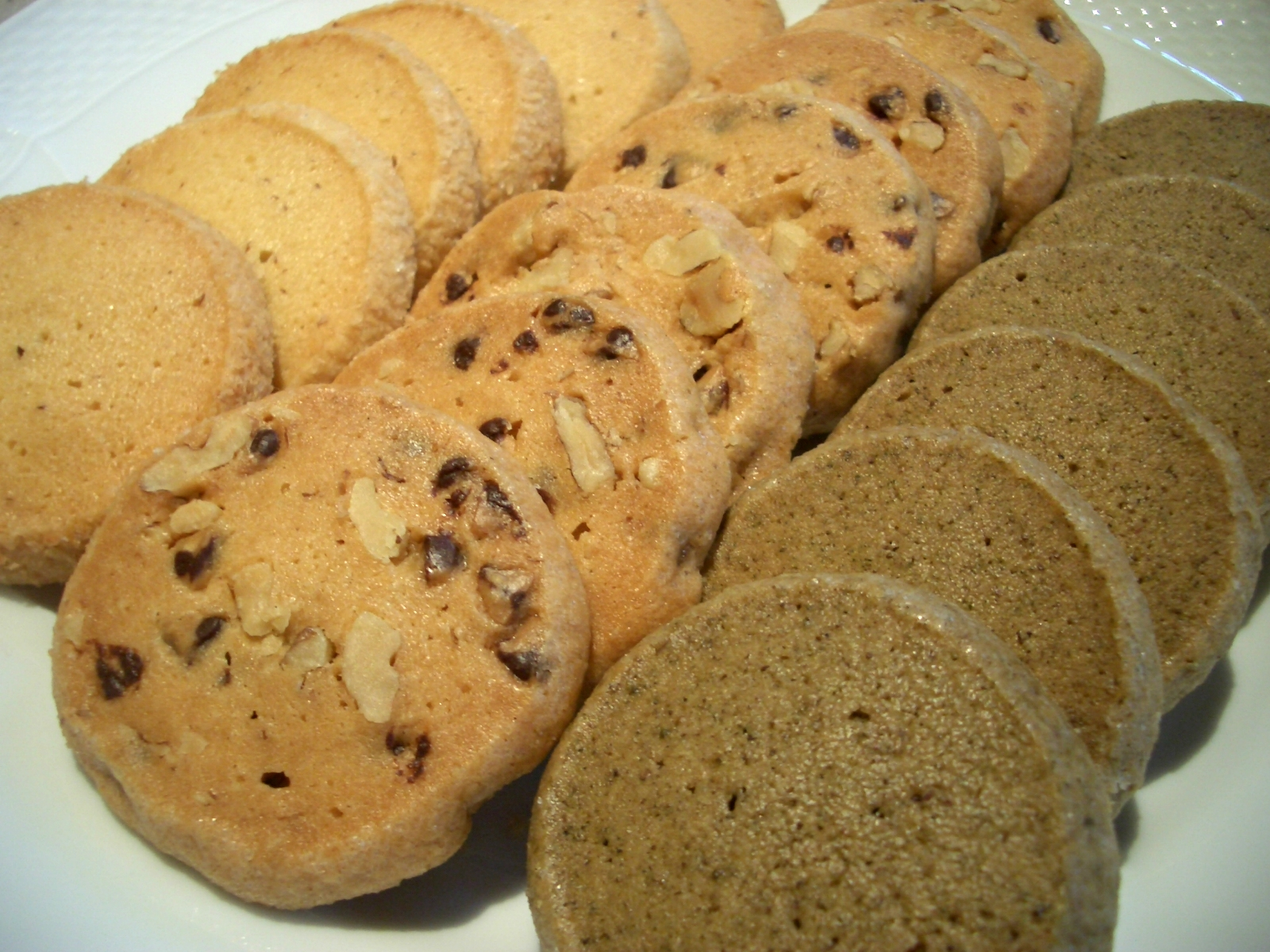 2009年10月5日(月)アイスボックスクッキー3種『お菓子教室』