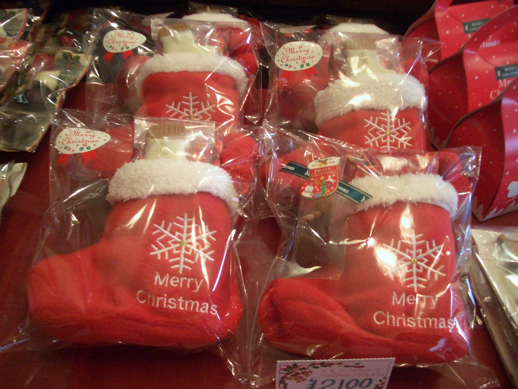 クリスマス限定、詰め合わせクリスマス靴下