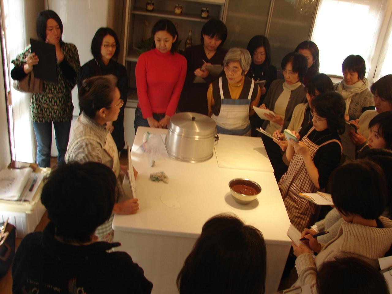2008年1月チョコレートの講習会