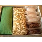 ガナッシュケーキ2本、ダックワーズショコラ、マカロンショコラの詰め合わせ(冷蔵)